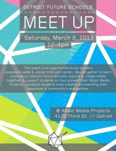 Come out to see the future of digital media education in Detroit