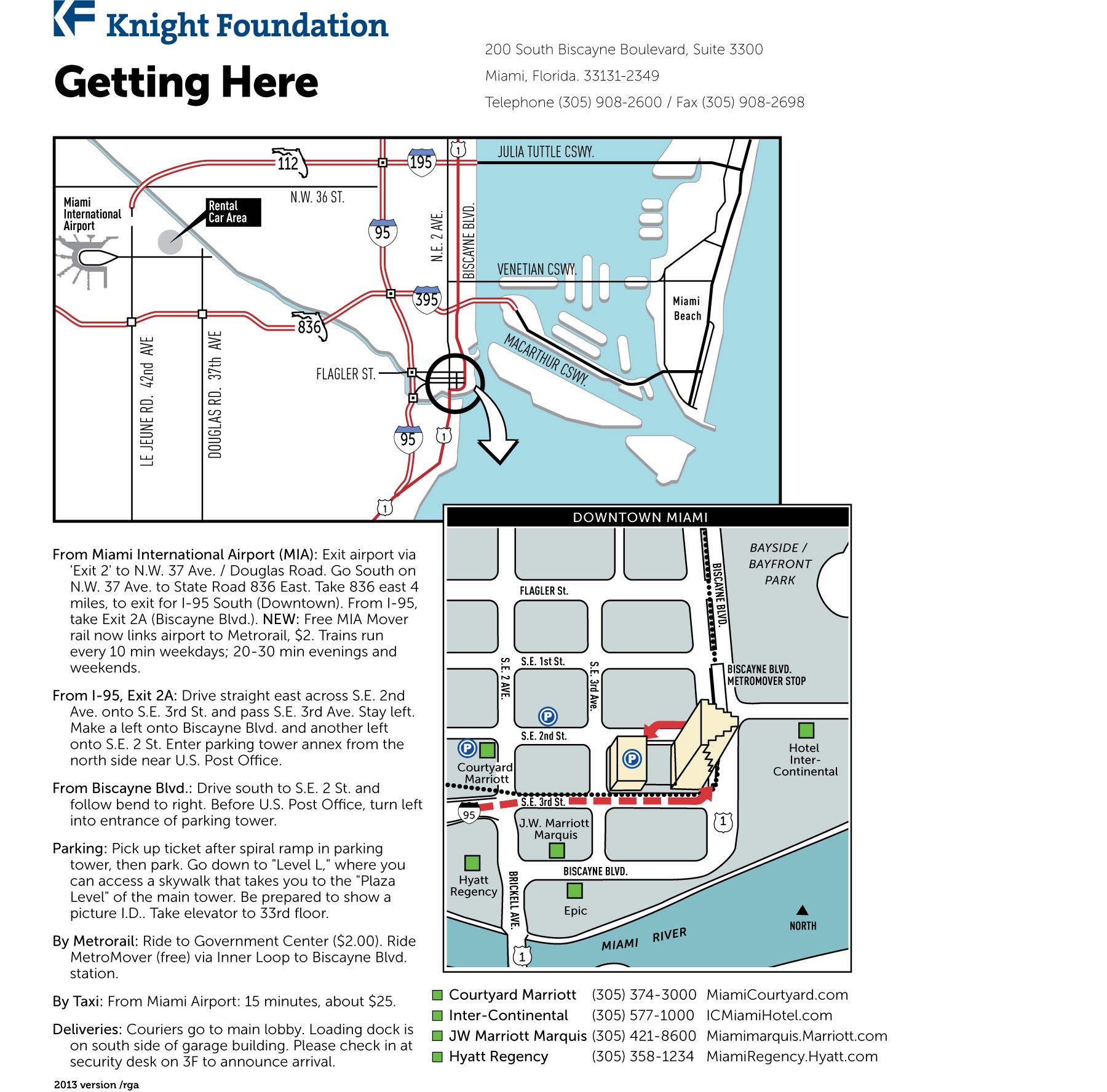 KF VISITORS MAP