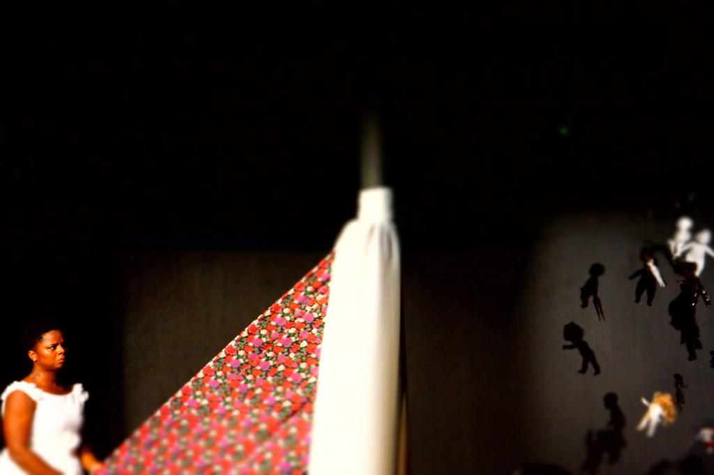 """""""Red"""" by Afua Hall. Photo by Neil de la Flor"""