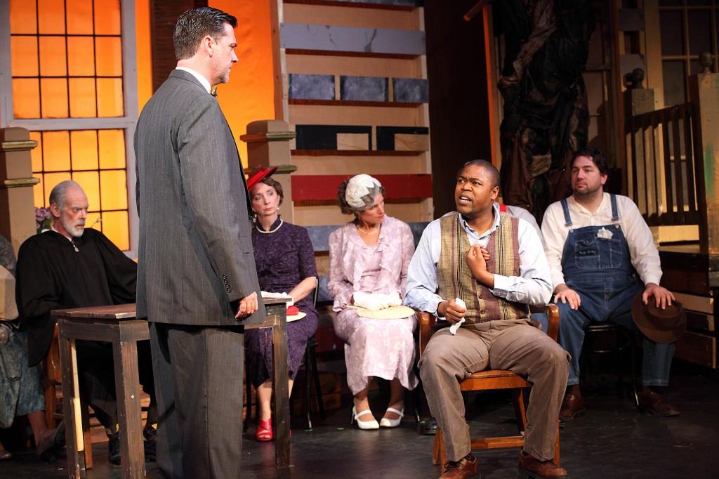 """Theatre Macon&squot;s production of """"To Kill A Mockingibird"""" Photo by Amy Maddox-Nicholson"""