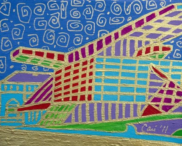 "Cari Miller, ""Akron Art Museum."" Photo courtesy of Summit Artspace"