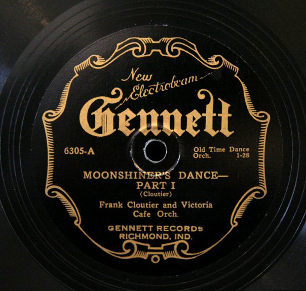 "Record of ""Moonshiner&squot;s Dance Part 1."" Photo courtesy of Aaron Rubenstein and Minnesota Public Radio."