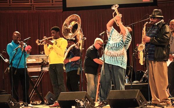 Lorenzo with Dirty Dozen Brass Band 3.14.14