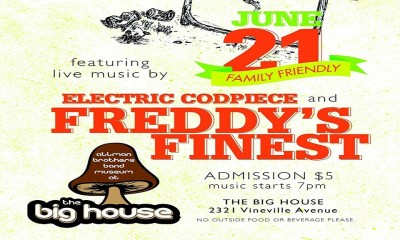 Freddy's Finest & Codpiece play the Big House.