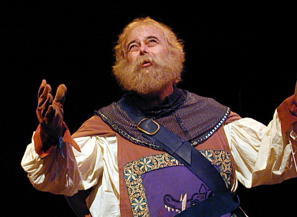 "Terry Burgler as Falstaff in ""Henry IV, Part One,"" Ohio Shakespeare Festival."