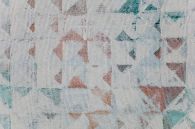 "Detail of Gelfman&squot;s 2014 ""thru4."""