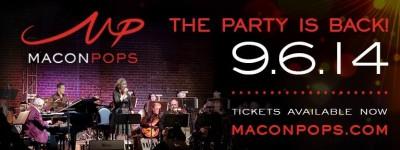 "Macon Pops ""Dancing Through the Decades, Part II"" flyer"