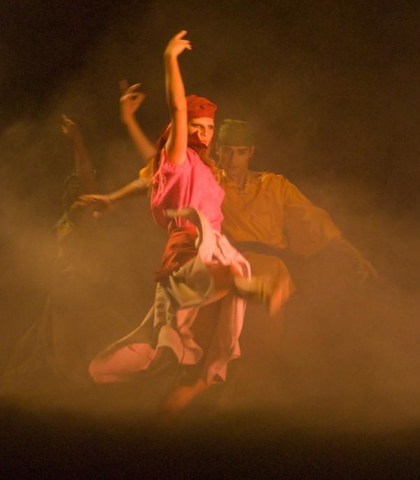 """Count: The Legend of Dracula,"" scene. Photo courtesy of Neos Dance Theatre"