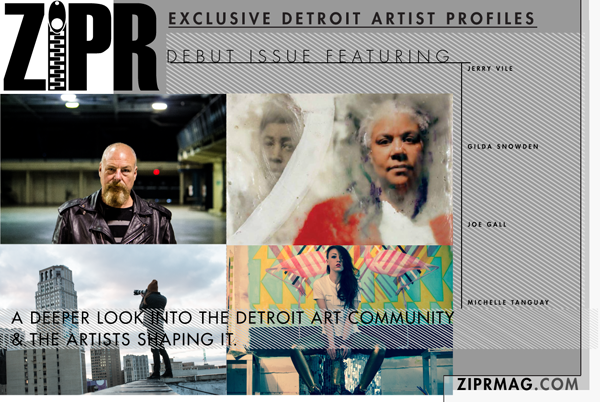 Some of Detroit's best-known and best-loved artists will be featured in the first issue, available Friday.