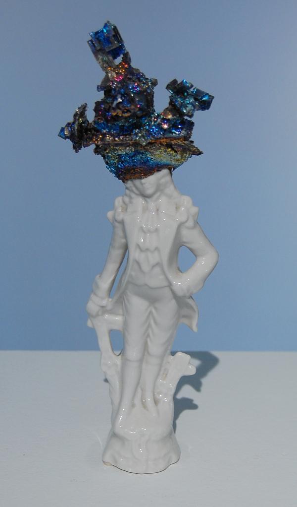 "Chris Ritson, ""Bismuth Figurine."""
