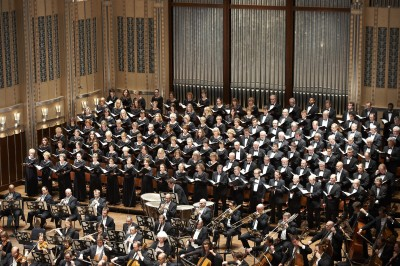 The Cleveland Orchestra Chorus. (Photo by Roger Mastroianni)