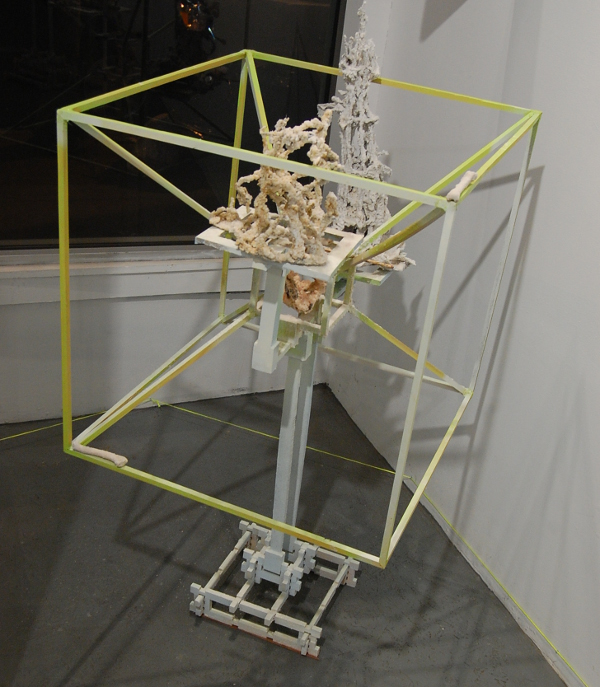 """Tyler Kline, """"Hexahedron, the impossibility of being Square."""""""