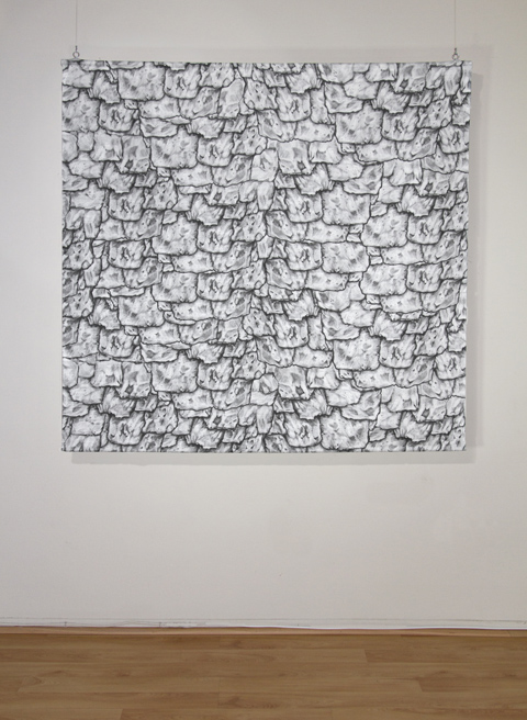"Miranda Pfeiffer, ""Tiles."" Image courtesy Savery Gallery"
