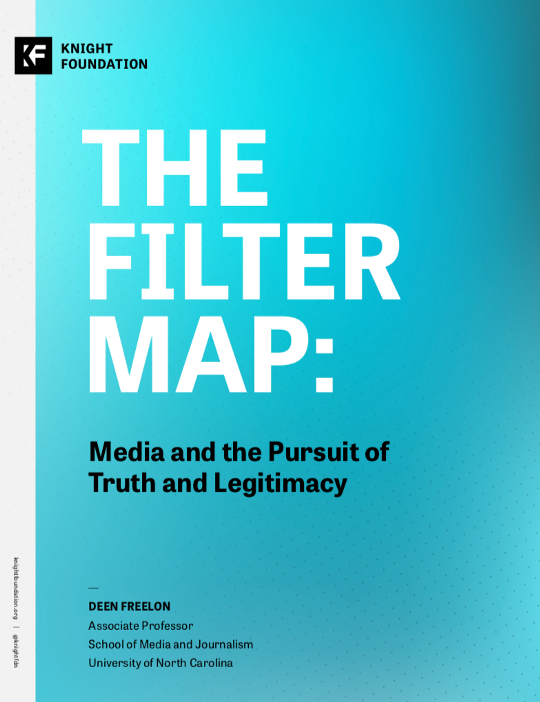 The Filter Map: Media and the Pursuit of Media and Legitimacy