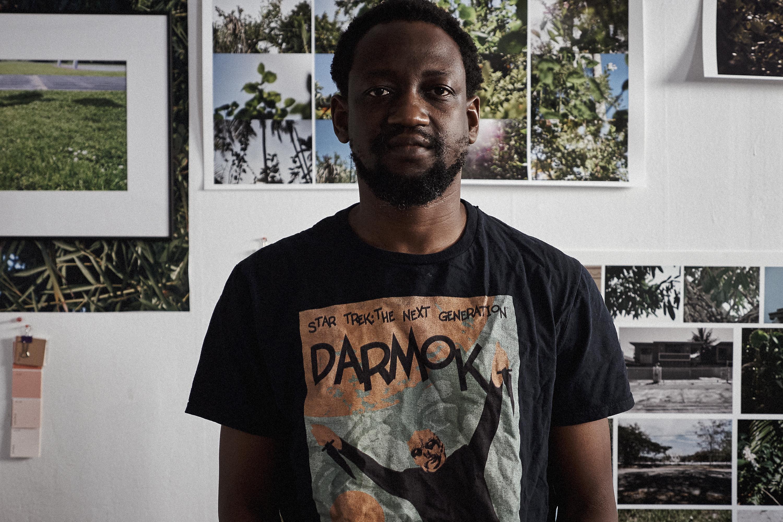 Adler Guerrier, Haitian-born and Miami-based multidisciplinary artist