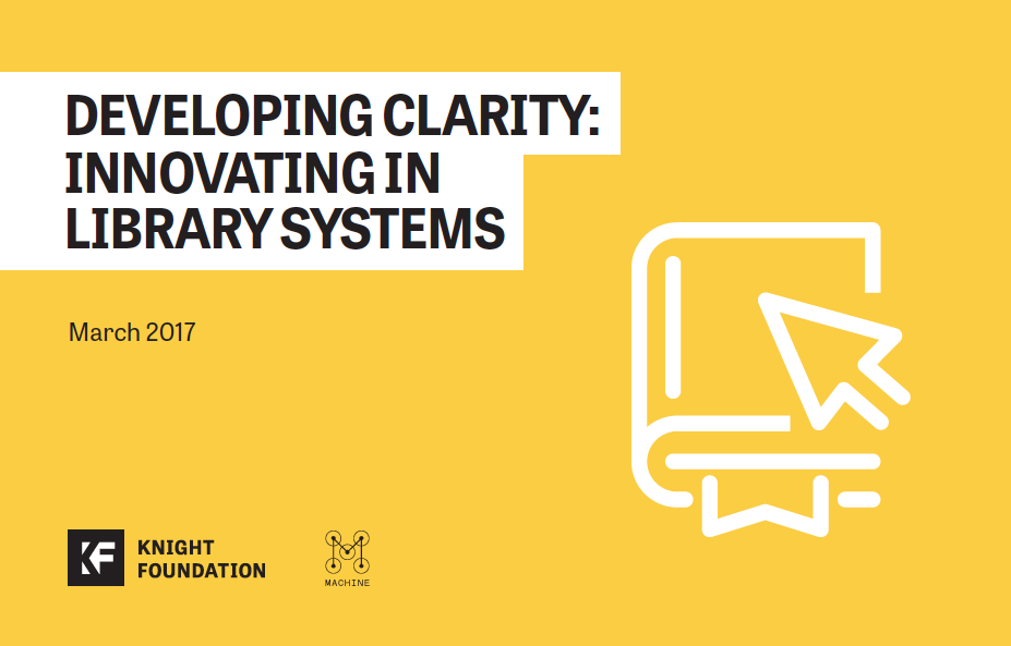 Developing Clarity: Innovating in Library Systems