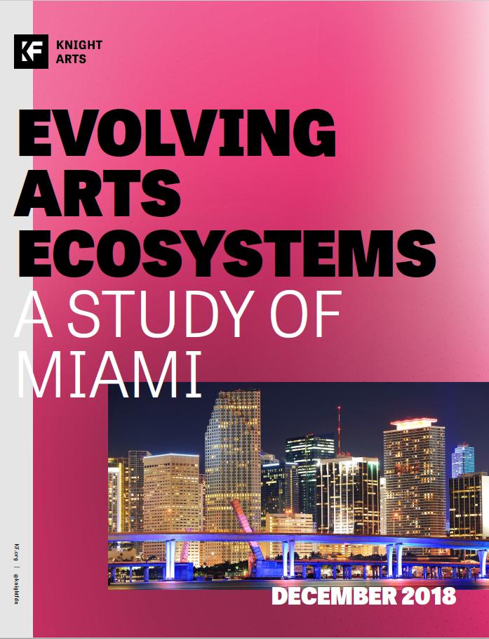 Evolving Arts Ecosystems - A Study of Miami