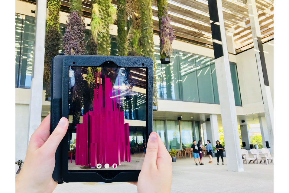 "ArtDaily: ""Pérez Art Museum Miami launches its first-ever augmented reality exhibition"""
